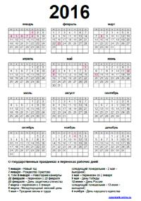 Календарь времени долгота дня