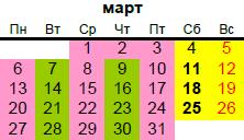 православные праздники в марте 2017 года